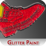 Glitter Paint Option for Coins