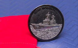 Black Nickel Military Challenge Coin