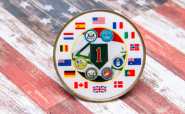 Offset Printing, Military Challenge Coin